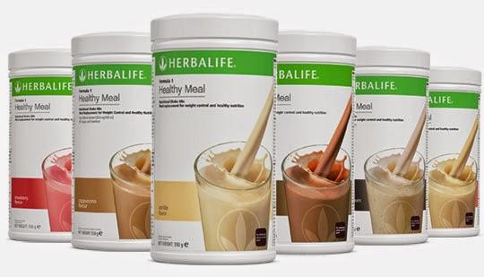 Herbalife F1 Shake có 4 hương vị khác nhau cho bạn lựa chọn