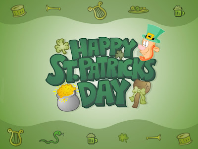 Free Download St. Patrick's Day PowerPoint Background 2