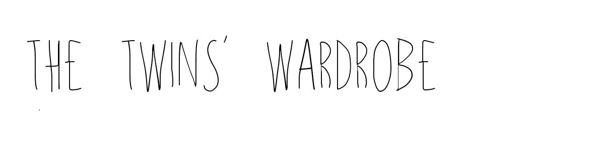 The Twins' Wardrobe