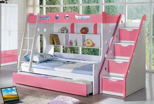 Little Girl Room Ideas With Bunk Beds