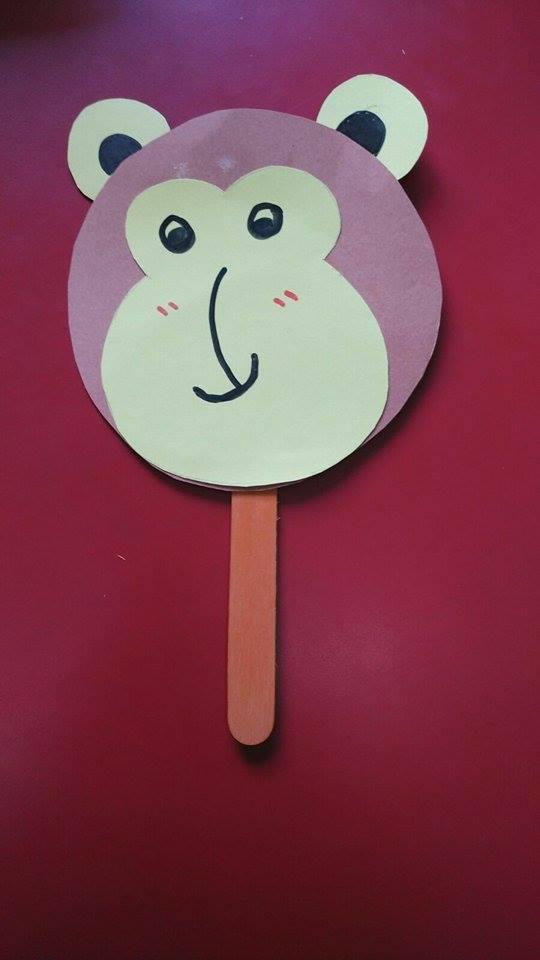 Easy Monkey Craft