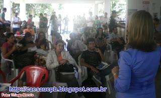 Alunos comparem na apresentação da Chapa 3