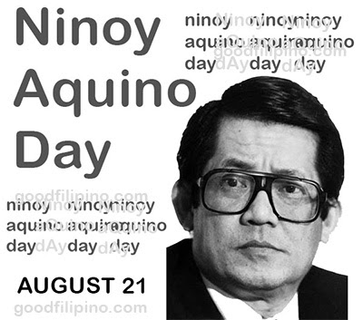 August 21, 2014 Ninoy Aquino Day Declared as a Special Non-Working Holiday