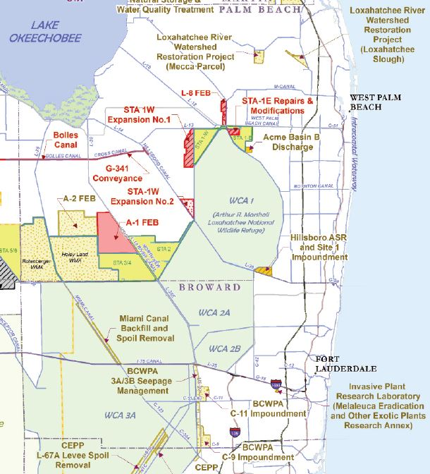 Lake O water levels. Public comment period ends on April 22nd.