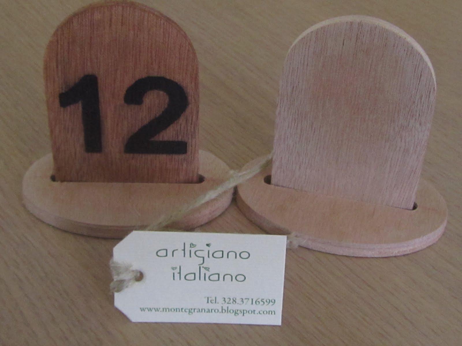 Numeri segna tavoli