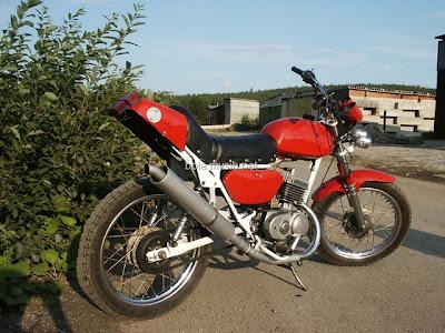 Тюнинг мотоцикл минск своими руками фото