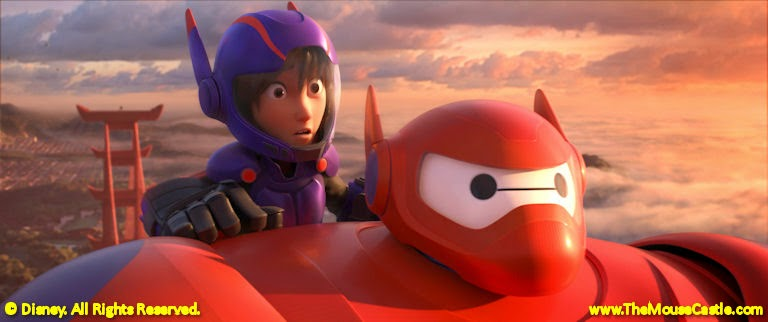 Hiro and Baymax in Big Hero 6.