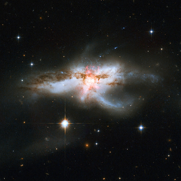 Interacting Galaxies NGC 6240