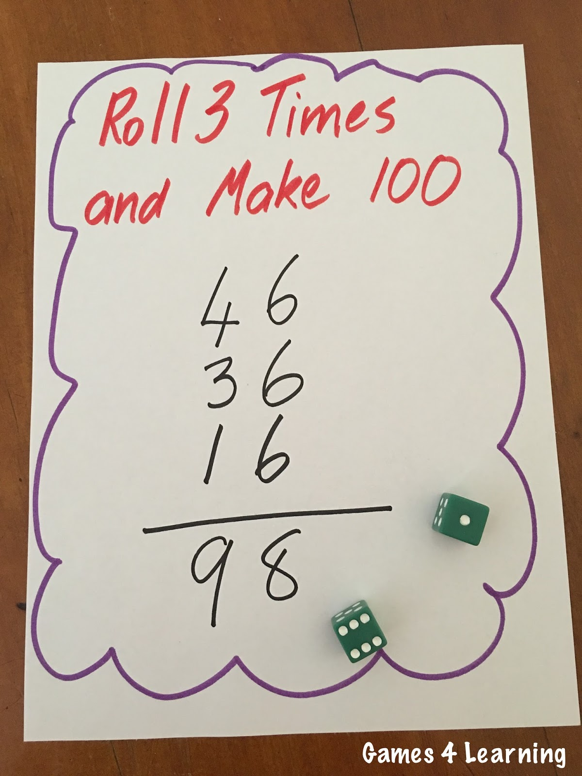 how to make 7 dice
