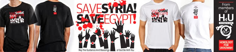 SAVE SYRIA! SAVE EGYPT!