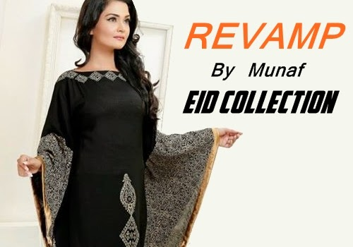 Revamp by Munaf Eid Dresses 2014