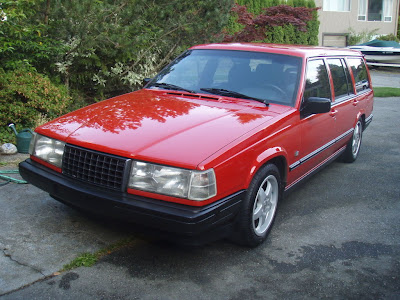 Just A Car Geek: 1993 Volvo 940 Turbo Wagon - Done Right