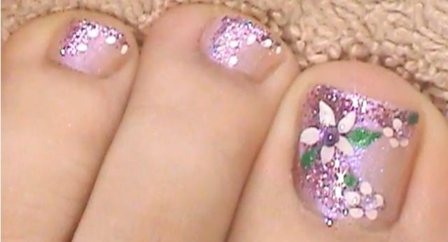 Imagenes para pintar uñas de los pies - Imagui