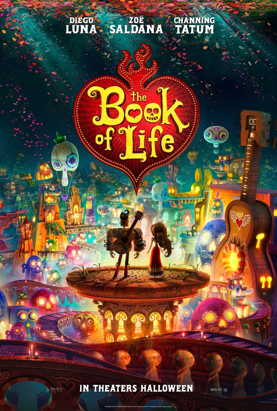Ver The Book of Life (2014) Online