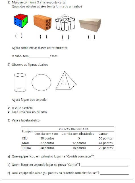 avaliação-de-matemática-para-o-4ºano