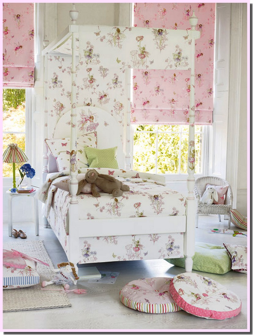 nassima home chambre rose pour petite fille de chez jane churchill. Black Bedroom Furniture Sets. Home Design Ideas