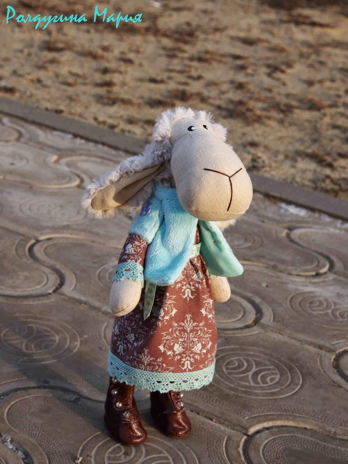 овечка в подарок на новый год