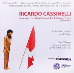 RICARDO CASSINELLI EN CASA O'HIGGINS DE LIMA