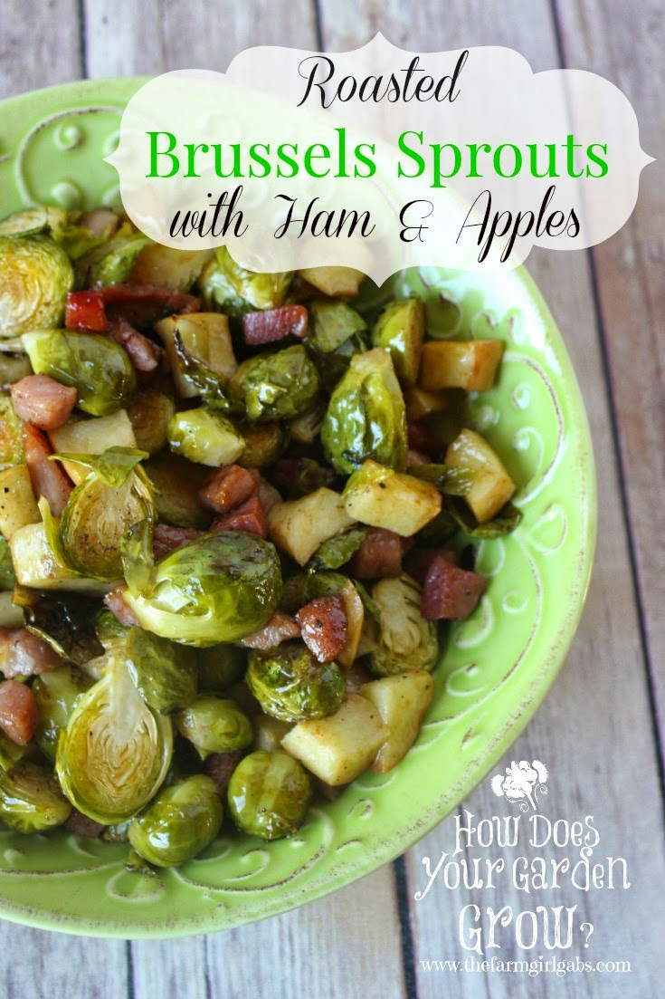 http://thefarmgirlgabs.com/roasted-brussels-sprouts-ham-apples/