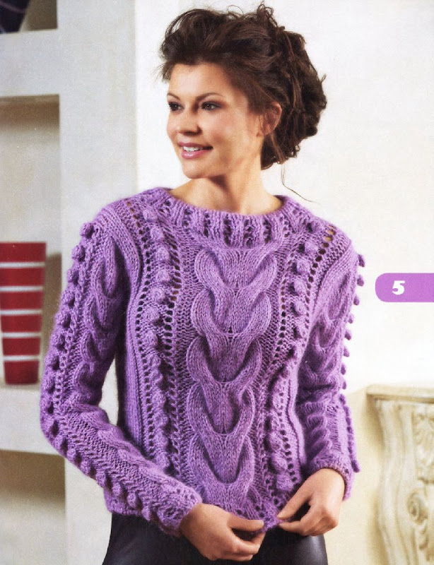стильных женских свитеров