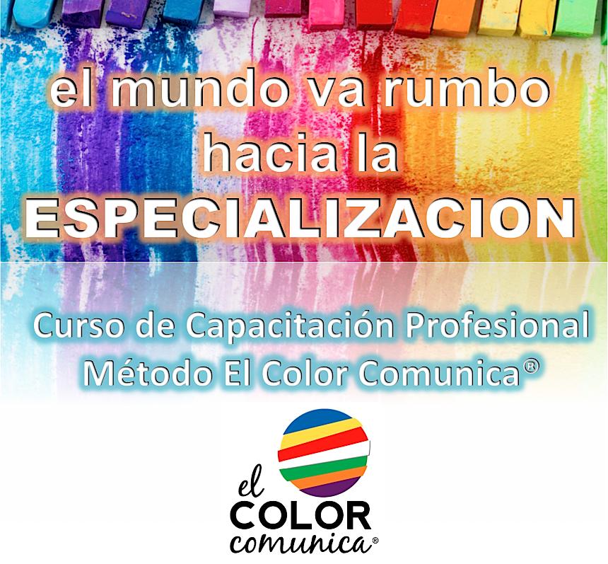 Curso de Capacitación Profesional El Color Comunica®