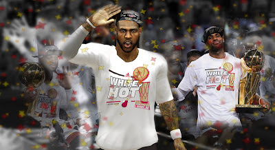 NBA 2K13 LeBron James with Finals Champions Hat