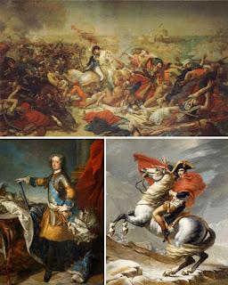 Картины художников прошлого из Версальской галереи