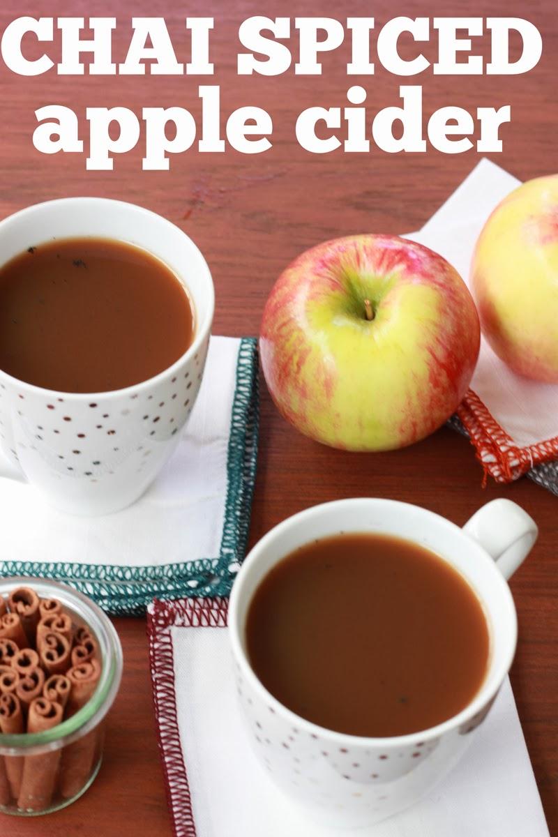 Stir & Scribble: Thirsty Thursday | Chai Spiced Apple Cider
