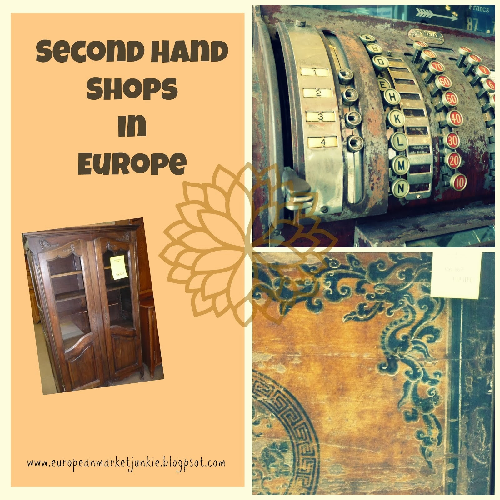 Visit the Second Hand Stores Below