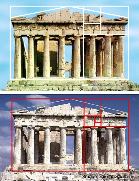 The Golden Ratio In Architecture gurney journey: mythbusting the golden mean, part 1