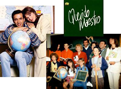 Reparto de la serie 'Querido Maestro', Imanol Arias, Emma Suárez, Mario y Elena