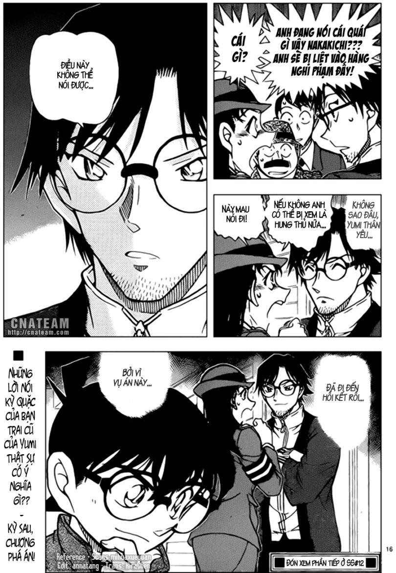 Detective Conan - Thám Tử Lừng Danh Conan chap 848 page 17 - IZTruyenTranh.com