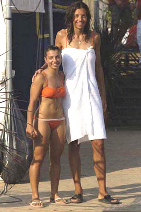 woman tall: