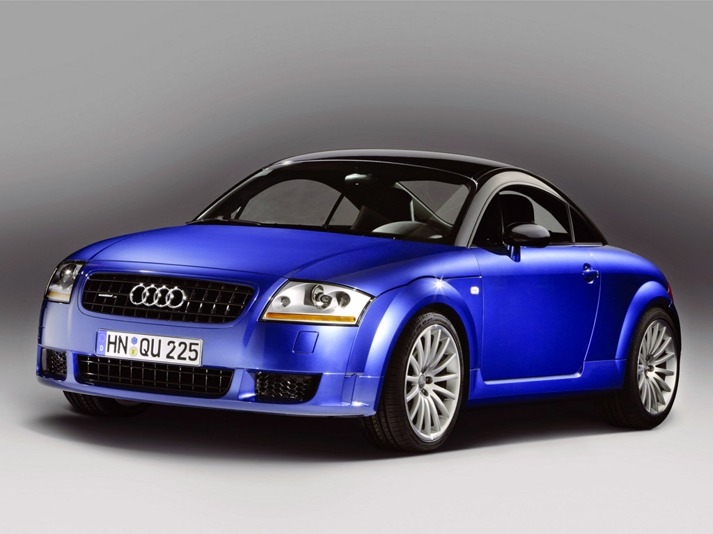 international fast cars audi tt quattro black. Black Bedroom Furniture Sets. Home Design Ideas