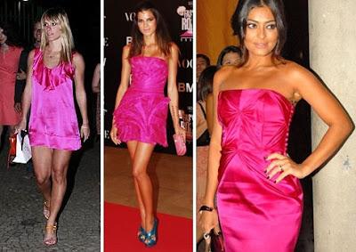 Fotos e imagens de Vestidos Pink