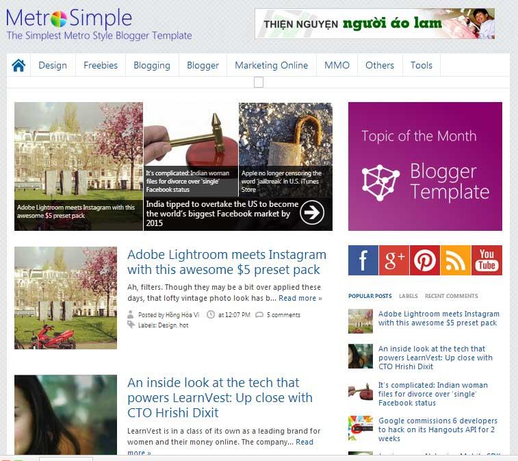 Download BEST Top 5 free Premium Blogger Templates 2012-2013 ~ My ...