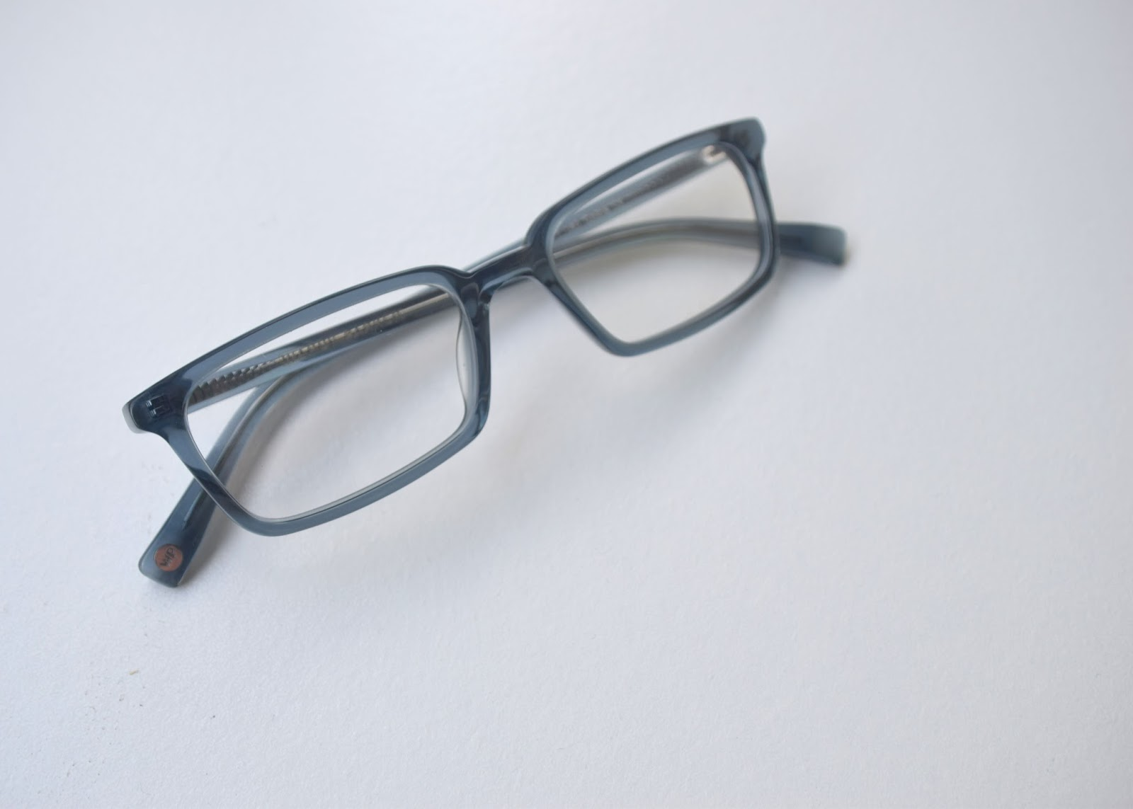 Warby Parker Home Try-On Verne in Beachglass