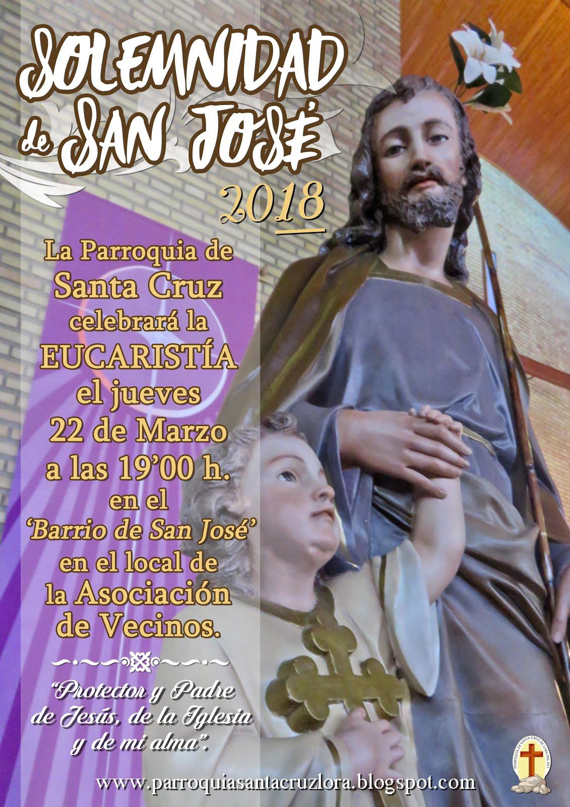 EL DÍA DE SAN JOSÉ