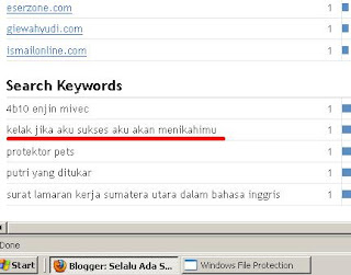 search keyword