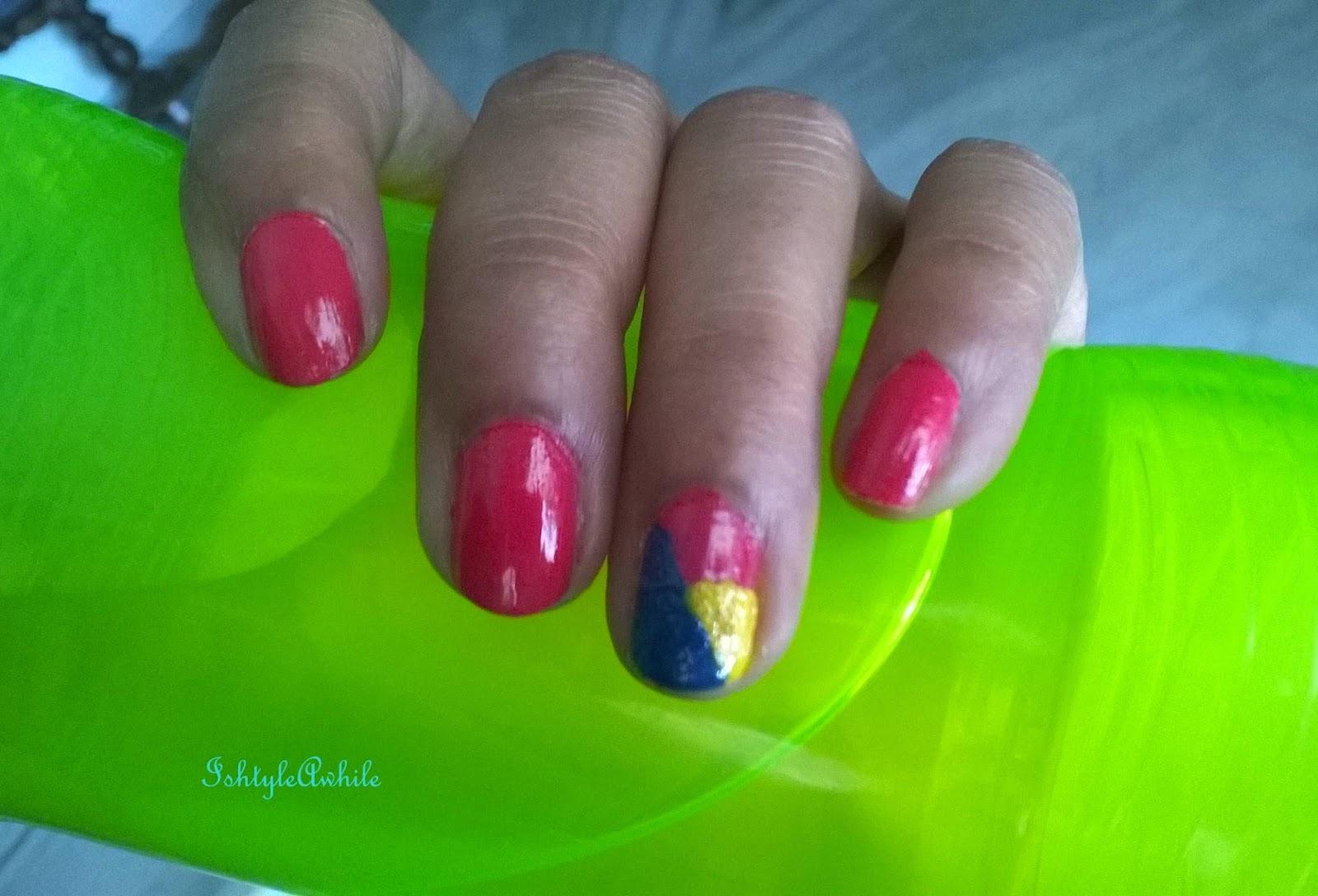 Nail Art #3: Spunky colours image