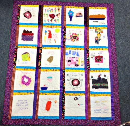 Make a Kid Art Collage Quilt