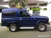 Dijual mobil nissan patrol tahun 1987 warna biru, Iklan baris mobil