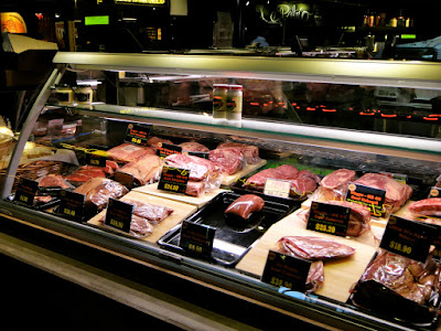 Raw Meats Station at Beef Market PasarBella The Grandstand
