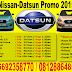 NISSAN-DATSUN PROMO 2015