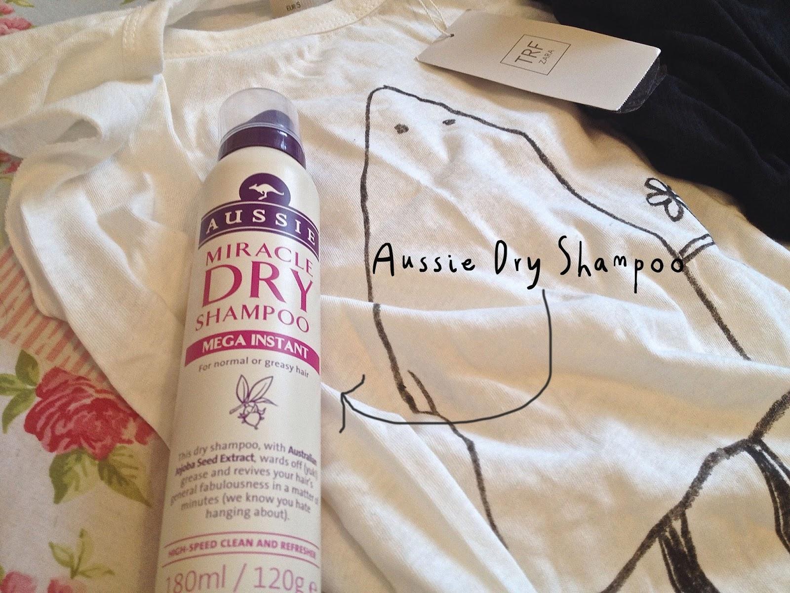 aussie dry shampoo blog