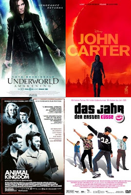 March films / películas de marzo