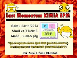 Last Momentum Kimia SPM