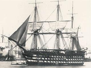 free, ship, plan, French, ship, warship, Montebello