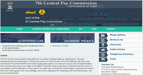 7th Pay Commission completes its task in the time frame and finalization of the report is underway