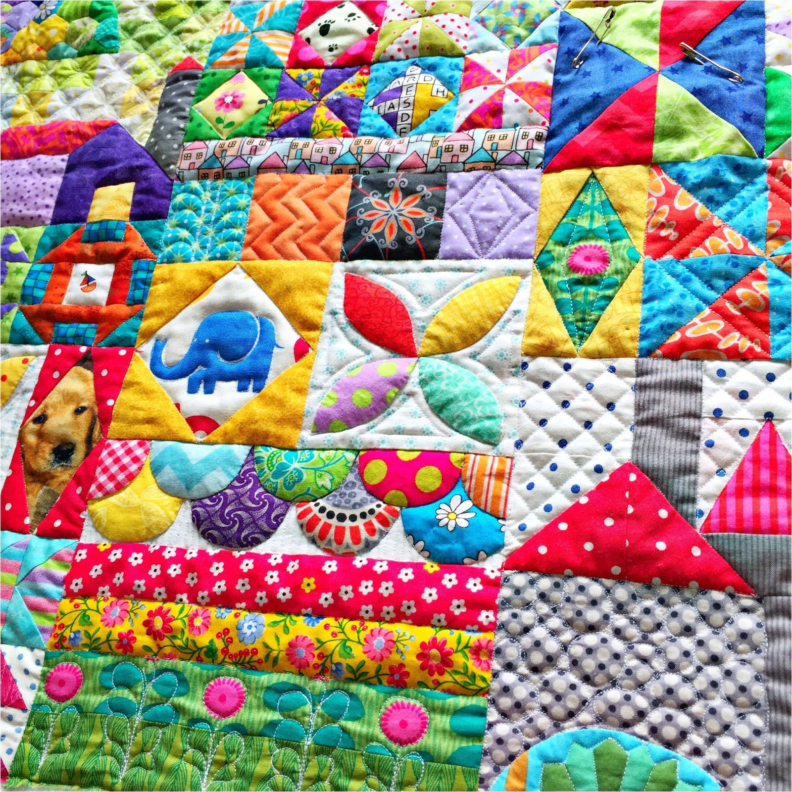 Snippets 'n' Scraps: My Small World Quilt : when did quilting begin - Adamdwight.com